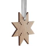 Деревянная подвеска Carving, в форме снежинки фото
