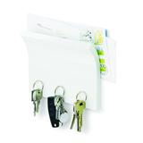 Держатель для ключей и писем Magnetter, белый фото