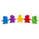 Держатель для заметок с разноцветными магнитами фото