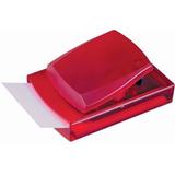 Диспенсер для записей, красный, красный фото