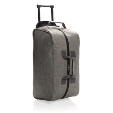 Дорожная сумка на колесах Basic, серая фото