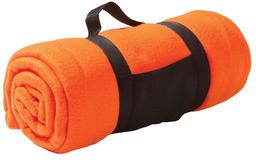 Дорожный плед Soft, оранжевый фото