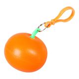 Дождевик Фрукт в футляре, оранжевый фото