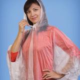 Дождевик Человек дождя в футляре, белый фото