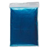 Дождевик, синий фото