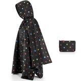 Дождевик mini maxi dots, черный фото