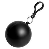 Дождевик в круглом футляре NIMBUS, черный фото