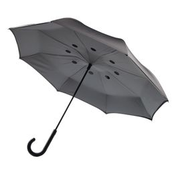 Зонт трость полуавтомат двусторонний XD Collection, серый фото