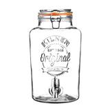 Диспенсер для напитков clip top, 8 л, прозрачный фото