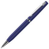 Ручка металлическая ELITE, синий/хром фото
