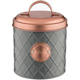 Емкость для хранения чая Copper Lid, 1 л, серая фото