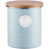 Емкость для хранения чая Living, 1 л, голубая фото
