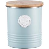 Емкость для хранения кофе Living, 1 л, голубая фото