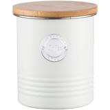 Емкость для хранения кофе Living, 1 л, кремовая фото