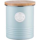 Емкость для хранения сахара Living, 1 л, голубая фото