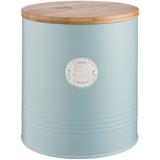 Емкость для печенья Living, 3.4 л, голубая фото