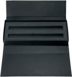 Футляр на 2 предмета, из картона, черный фото