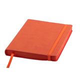 Ежедневник датированный Shady, А5, кремовый блок, оранжевый обрез, оранжевый фото