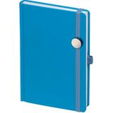 Ежедневник Favor Metal, недатированный, голубой фото