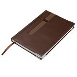 Ежедневник недатированный Happy Book Aston А5, коричневый фото