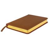 Ежедневник недатированный JOY А5, коричневый фото
