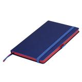 Ежедневник недатированный Portobello Trend, Blue ocean, синий/красный (стикер, без ленты) фото