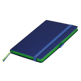 Ежедневник недатированный Portobello Trend Blue Ocean, синий/ светло-зеленый фото