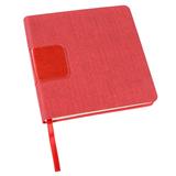 Ежедневник недатированный Enote Scotty А5, красный фото