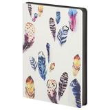 Ежедневник недатированный Butterfly Air, цветной/черный фото