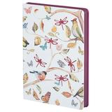 Ежедневник недатированный Butterfly Spring, бордовый фото