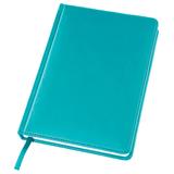 Ежедневник датированный Bliss А5, 336 стр., белый блок, без обреза, бирюзовый фото