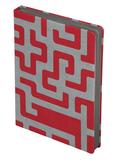 Ежедневник Labyrinth, недатированный, красный фото