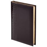 Ежедневник LUXE REPTAIL, недатированный, коричневый фото