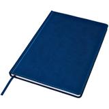 Ежедневник недатированный Bliss, А4, белый блок, без обреза, темно-синий фото