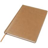 Ежедневник недатированный Bliss, А4,  коричневый, белый блок, без обреза фото