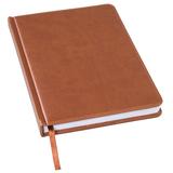 Ежедневник недатированный Bliss А5, коричневый фото