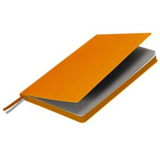 Ежедневник недатированный Portobello Trend Rain, 145х210, 256 стр, оранжевый фото