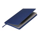 Ежедневник недатированный Portobello Trend, Rain, 145х210, 256 стр, синий(стикер,серый форзац,насыщ.синий.срез) фото