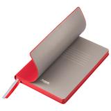 Ежедневник недатированный Portobello Trend Rain, красный фото