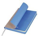 Ежедневник недатированный Portobello Trend, River side, бежевый/голубой (стикер, б/ленты) фото