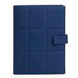 Ежедневник-портфолио Royal, недатированный кремовый блок, подарочная коробка, синий фото