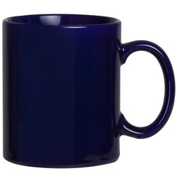 Фаянсовая кружка, темно-синяя фото