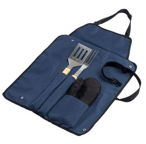 Фартук с набором для барбекю Grill Master, синий фото
