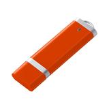 Флешка Profit, 8 Гб, оранжевая фото