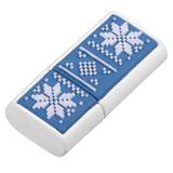 Флешка Скандик, 8 Гб, синяя (индиго) фото
