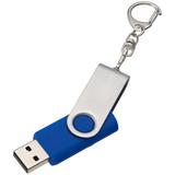 Флешка Twist, синяя, 16 Гб фото