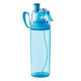 Фляга для питья, 600 мл., бирюзовый/прозрачный фото