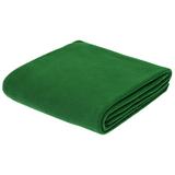 Флисовый плед Warm&Peace, зеленый фото