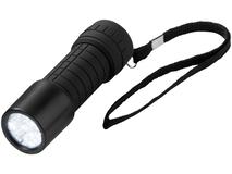 Фонарик с 9 светодиодами, чёрный фото