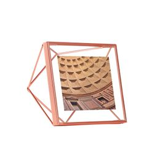 Фоторамка prisma 10х10 медь, оранжевый фото